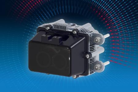 ZF produziert den ibeoNEXT-Solid-State-Lidar in Brest und liefert das Transceivermodul (den Messkern des Sensors) nun auch für den TranSICK. Der neue Sensor wird vor allem in industriellen Anwendungen eingesetzt. Bild: Ibeo
