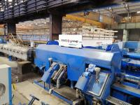 The SMS group MEERdrive®PLUS sizing block in operation at ARLENICO works