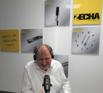 Stefan Zecha, der Vorsitzende des VDMA Fachverbands Präzisionswerkzeuge, mit einem Branchenausblick zum Jahresstart im CERATIZIT Innovation Podcast