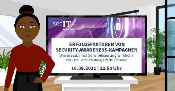 IYS beim secIT SPECIAL by Heise 2021 – Inkl. Vortrag über Security-Awareness