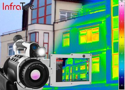 Bauthermografie mit VarioCAM® High Definition von InfraTec