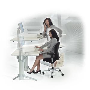 Bewegung! Mit ergodynamischen Büromöbeln!