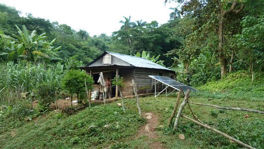 Solar system private household El Brujito