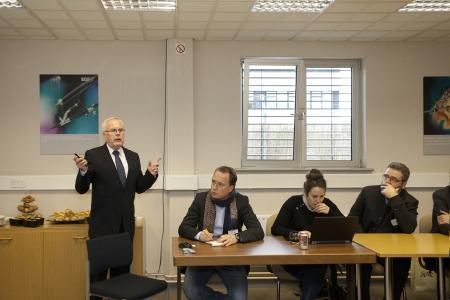 Delegation baden-württembergischer Wirtschaftsvertreter zu Besuch bei Richard Wolf UK Ltd.