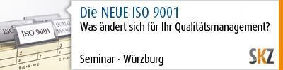 Die NEUE ISO 9001 – Was ändert sich für Ihr Qualitätsmanagement?