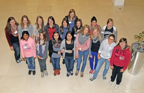 Girls' Day 2012 bei der ifm electronic