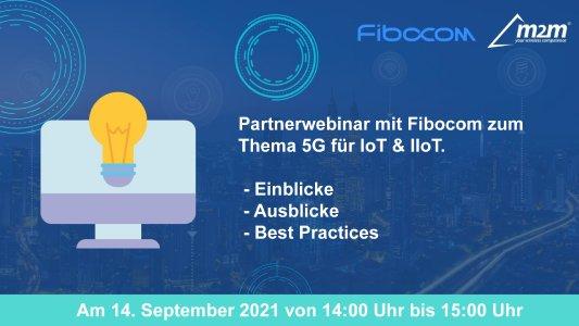 Webinar: 5G für IoT & IIoT ©m2m Germany