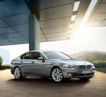 The BMW 5 Series Saloon