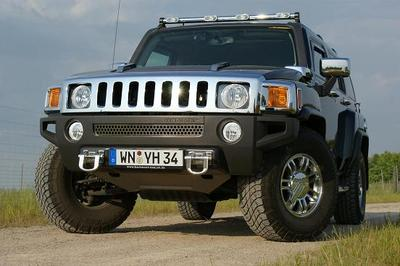 Hummer H3 alpha Competition