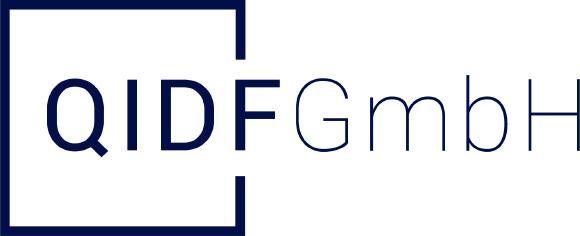 """Logo der neuen """"QIDF GmbH"""""""