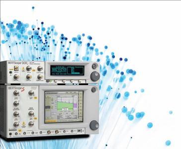 Der Digital Communication Receiver DCRj von Synthesys Research ermöglicht erstmals SONET/SDH/OTN Jitter Compliance Tests mit Jitterspektrum-Messungen bis 80 MHz