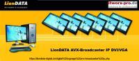 Bild LionDATA AVX DVI/VGA IP mit 24 Zoll Monitor