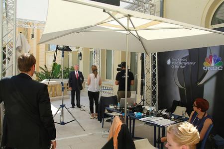 """Dr. Manfred Wittenstein vertritt Deutschland bei der Wahl zum """"World Entrepreneur of the Year 2012"""""""
