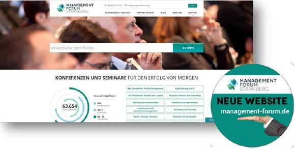Unsere neue Homepage - Ihr neuer Nutzen