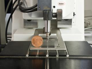 Innovative Kleinteile-Messung von Mahr (Foto: Mahr)