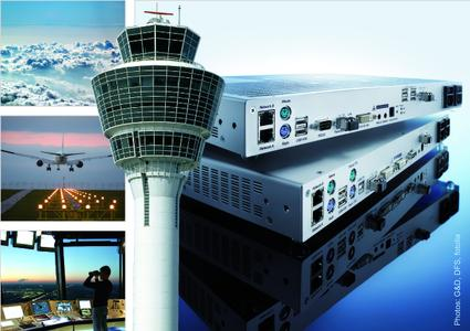KVM in tower und control room