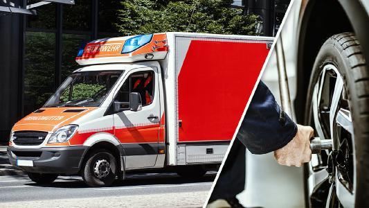 Um die vielen Helfer im Kampf gegen das Coronavirus zu unterstützen, stellt Michelin Rettungsdiensten und Krankentransporten im Fall einer Reifenpanne kostenfrei Ersatzreifen zur Verfügung