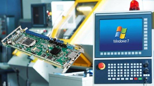 Slot CPU Karten gemäß PICMG1.0 mit Windows 7/10 Unterstützung für Backplanes mit PCI & ISA Slots