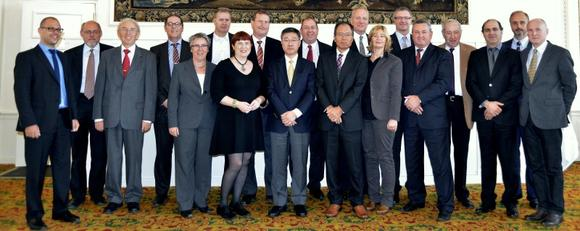 Die OEKO-TEX® Institutsleiter auf ihrem diesjährigen Treffen in Luzern (Schweiz)