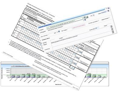 Formulare für Fördermittel in fx-project