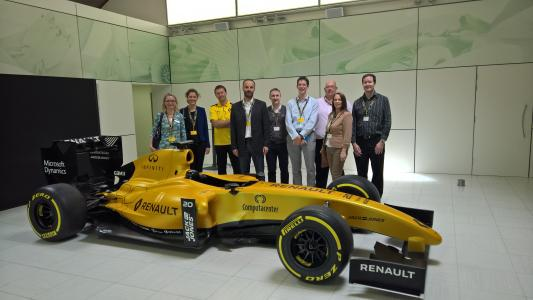 YXLON: Inauguration of the YXLON MU2000-D X-ray and CT System at Renault Sport Formula One™ Team Technical Centre in UK