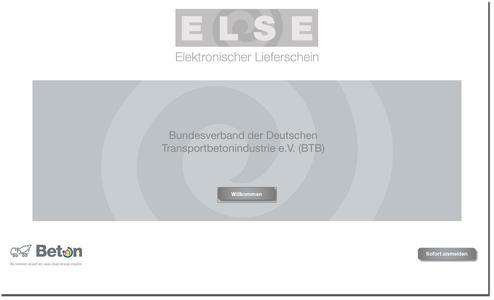 www.beton-else.de gibt es bereits seit 2009