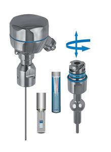 Die neuen Temperatur-Sensoren der iTHERM-Familie: iTHERM QuickNeck: Halsrohr mit Schnellverschluss zur einfachen Rekalibrierung und iTHERM QuickSens für schnellste Ansprechzeiten