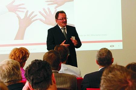 Der erste Bürgermeister der Stadt Essen begrüßte das Engagement von Multi-Contact