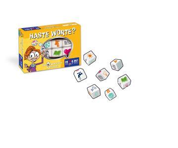 Haste Worte - Das 2. wortreiche Würfelspiel (Box + Inhalt)