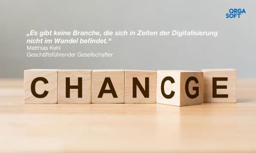 Der digitale Wandel bietet viele Chancen