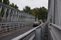 Temporäre Konstruktionen wie Behelfsbrücken und Fliegende Bauten sind Beispiele für die bewährte Wiederverwendbarkeit von feuerverzinktem Stahl / Foto: Institut Feuerverzinken