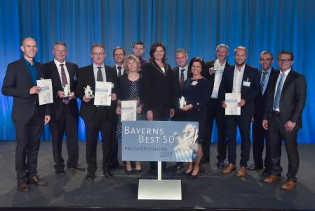 Bayerns Best 50 price giving