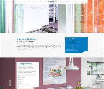 Digitalagentur formativ.net erstellt neue Website der Westphal Maler GmbH aus Neu-Isenburg