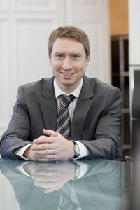 Holger Kligge, Prokurist bei Arcanum Energy, freut sich über den großen Zuspruch seines Massenbilanzsystems