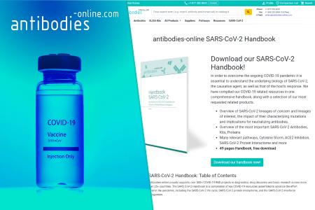 Free Download available: antibodies-online.com offers in-depth Coverage of SARS-CoV-2 Biology