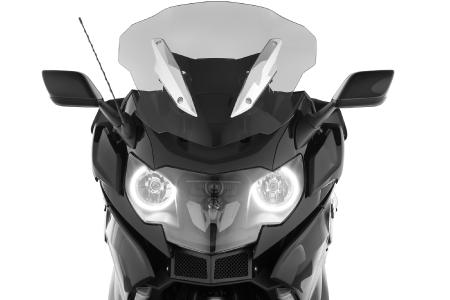 Wunderlich windscreen »CRUISE« in high position - perfectly for highway rides