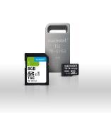 Technische Sicherheitseinrichtungen (TSE) zur manipulationssicheren Aufzeichnung von Kassendaten. Der Anschluss erfolgt über die USB-, SD- oder microSD-Schnittstelle.  Die TSE ist als Einzelgerätlösung und als LAN-Lösung erhältlich / Bildquelle: Swissbit