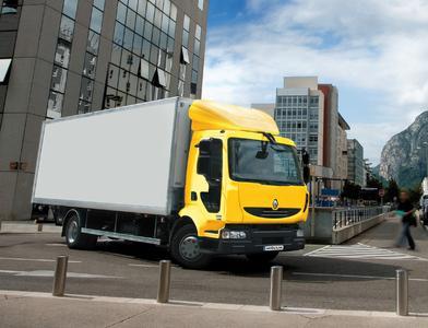 Die Renault Midlum-Baureihe soll künftig die Flotte von DHL Benelux verstärken