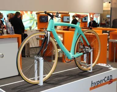A designer bicycle constructed with hyperCAD-S® (Image source: OPEN MIND)