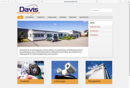 Informationen und Service zum Thema Videosystemtechnik unter www.davis-gmbh.de