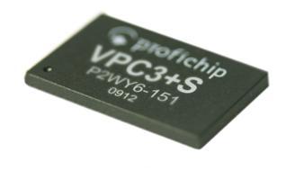 VPC3+S kleinster PROFIBUS DP Slave Controller ASIC der Welt
