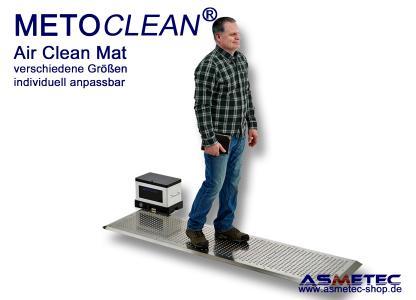 METOCLEAN Air Clean Mat - automatische Staubabsaugung beim Darübergehen
