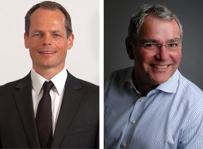 Andreas Bechthold, Geschäftsführer Infinigate Deutschland GmbH / Günter Esch, Director Sales bei SEPPmail