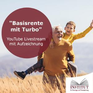 Basisrente mit Turbo im IVFP Livestream als Aufzeichnung