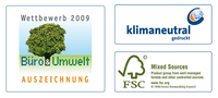 ECOmise it TM - EBV Elektrotechnik has been honored as one of the environmentally friendliest offices in Germany