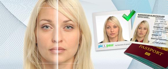 Pic4Pass - World's first global online identification photo service that provides guaranteed government compliance based on sophisticated biometrics