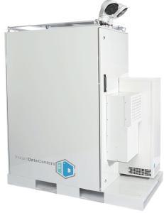 Das Instant Edge kann, im Einzelbetrieb oder im Verbund mit mehreren Einheiten, einen konventionell betriebenen Serverraum oder ein Container-Rechenzentrum komplett ersetzen