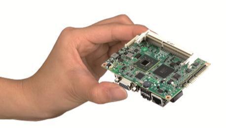 Ultrakompakter, hochflexibler Pico-ITX SBC mit Intel® Atom(TM) N2600/N2800-Prozessor