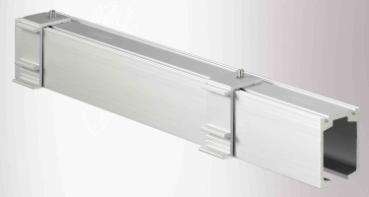 Height adjustable ceiling block for manual sliding door systems