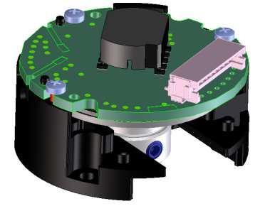 Die platzsparenden absolut Drehgeber sind auf magnetischem N33MA & 18SA und optischem N35MA & N35ST Prinzip aufgebaut